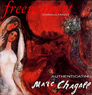 Authentication Authenticating Chagall 's art