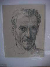 Conyers Barker Aself portrait