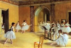 Authentic Degas painti ng