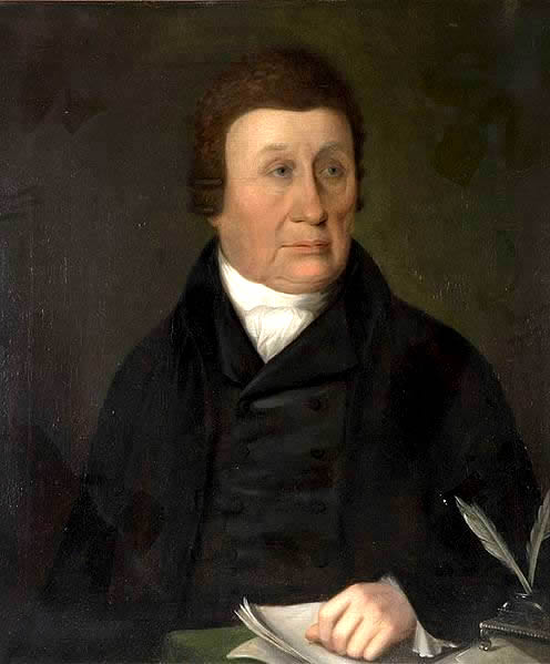 Portrait of John Wilkinson Artist Unknown.