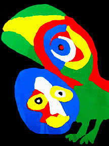 Karel Appel Peroquet