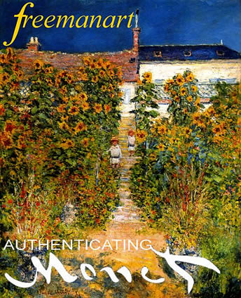 Claude Monet art authentication