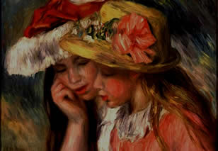 Authentic Renoir. Two Sisters