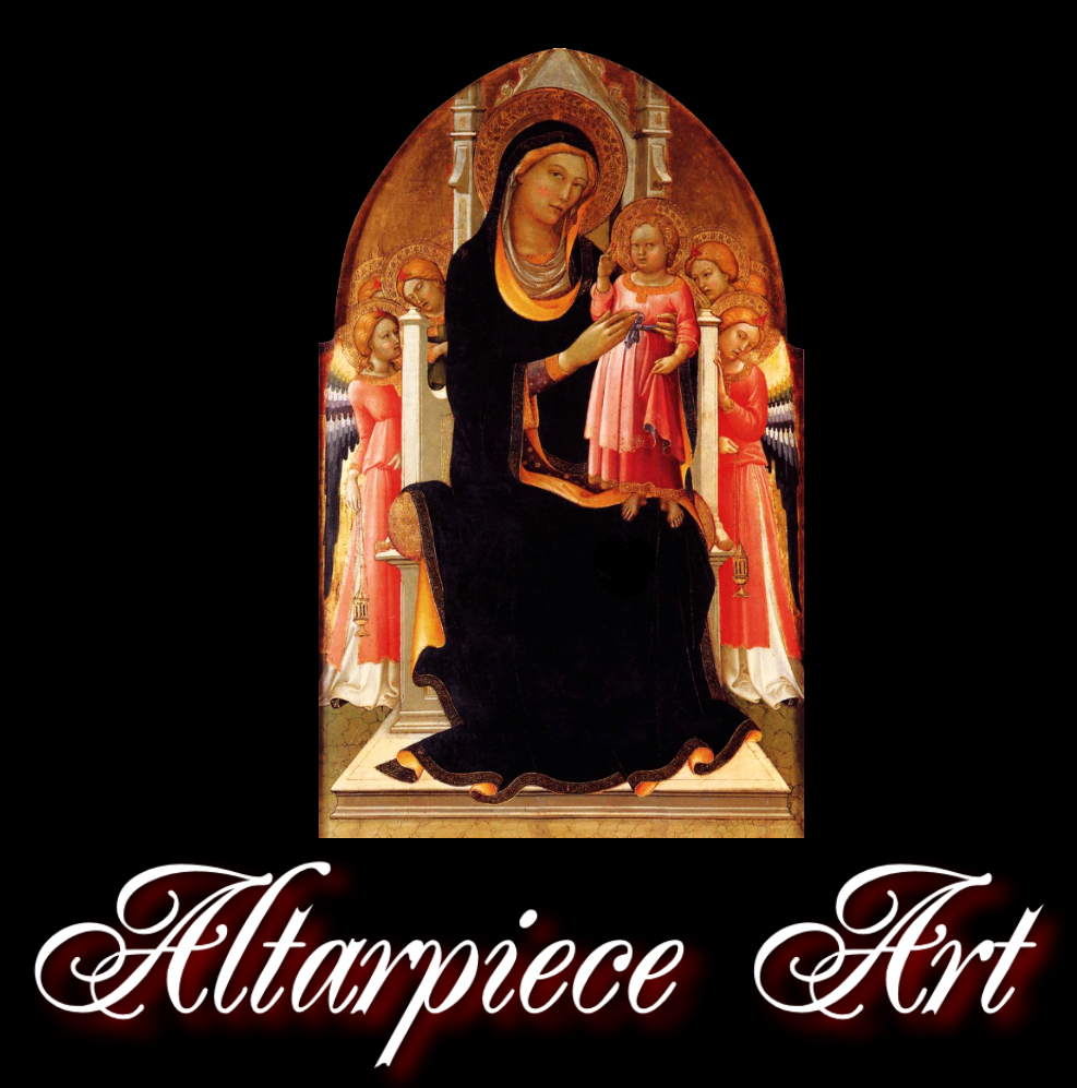 EUROPEAN ALTARPIECE ART