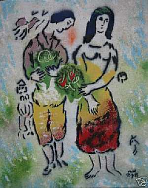 Fake Chagall. A joke!
