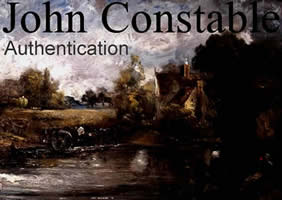 JOHN CONSTABLE AUTHENTICATION