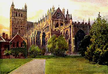 Widgery Exeter Cathedral
