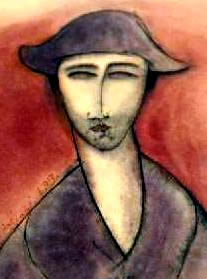 Modigliani fake portrait Ebay