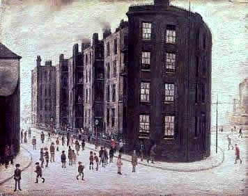 Legitimate authentic Lowry painting