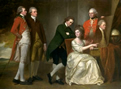George Romney oil painting
