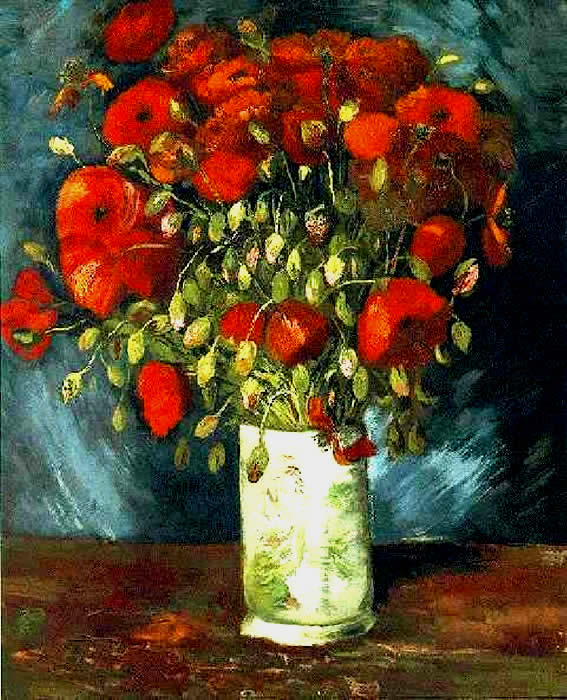 Fake Poppies by Van Gogh