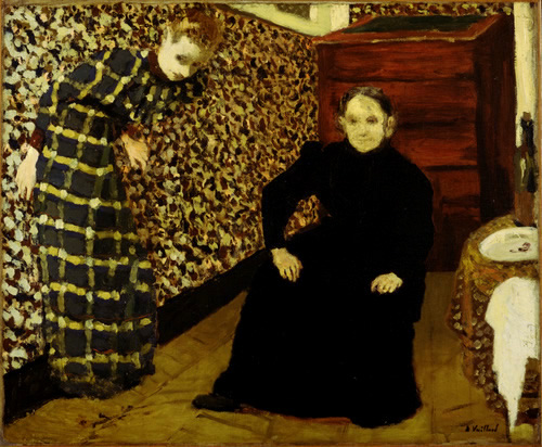 Interior, Mother and Sister of the Artist Vuillard