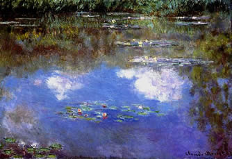 Monet Water Lillies Giverny.
